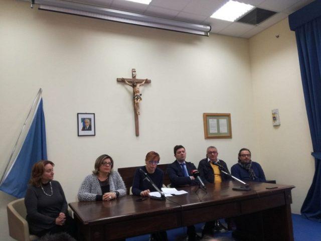 Conferenza stampa della Sindaca di Battipaglia Cecilia Francese