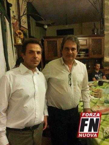 Vincenzo Baffa con Nello Fiore