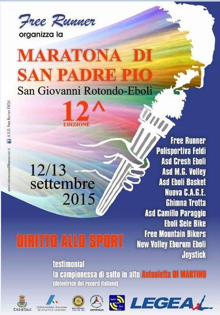 12 maratona san Padre Pio