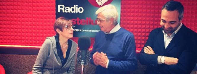 Cecilia francese a Radio Castelluccio