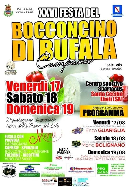 XXVI Festa del Bocconcino di Bufala Campana