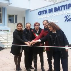 Vila Maria Battipaglia-Inaugurazione-Sindaca Francese