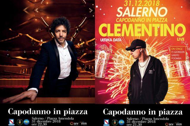 Salerno-Capodanno-Max Gazzè-Clementino