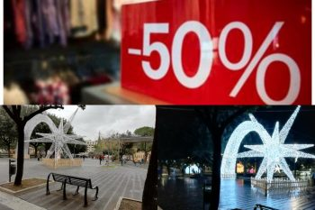 Sconti 50% a Eboli-Piazza della Repubblica-luminarie