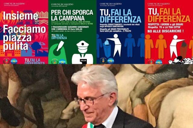 Vincenzo Napoli - campagna raccolta differenziata