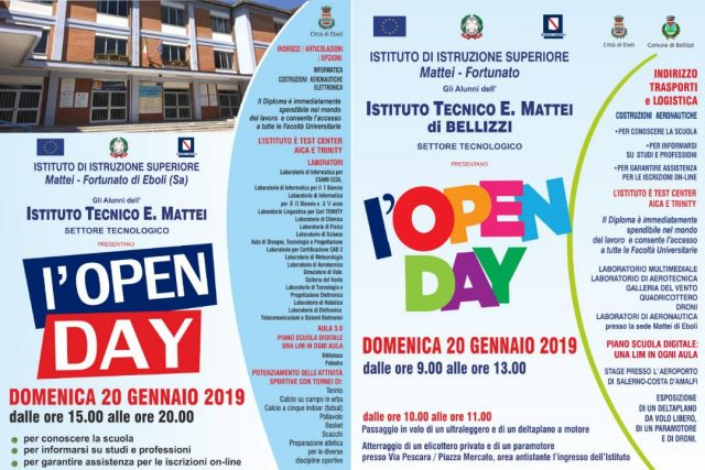 Eboli-Bellizzi-Open Day-Mattei