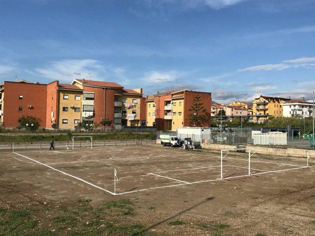 Area giochi Quartiere Borgonovo Bellizzi