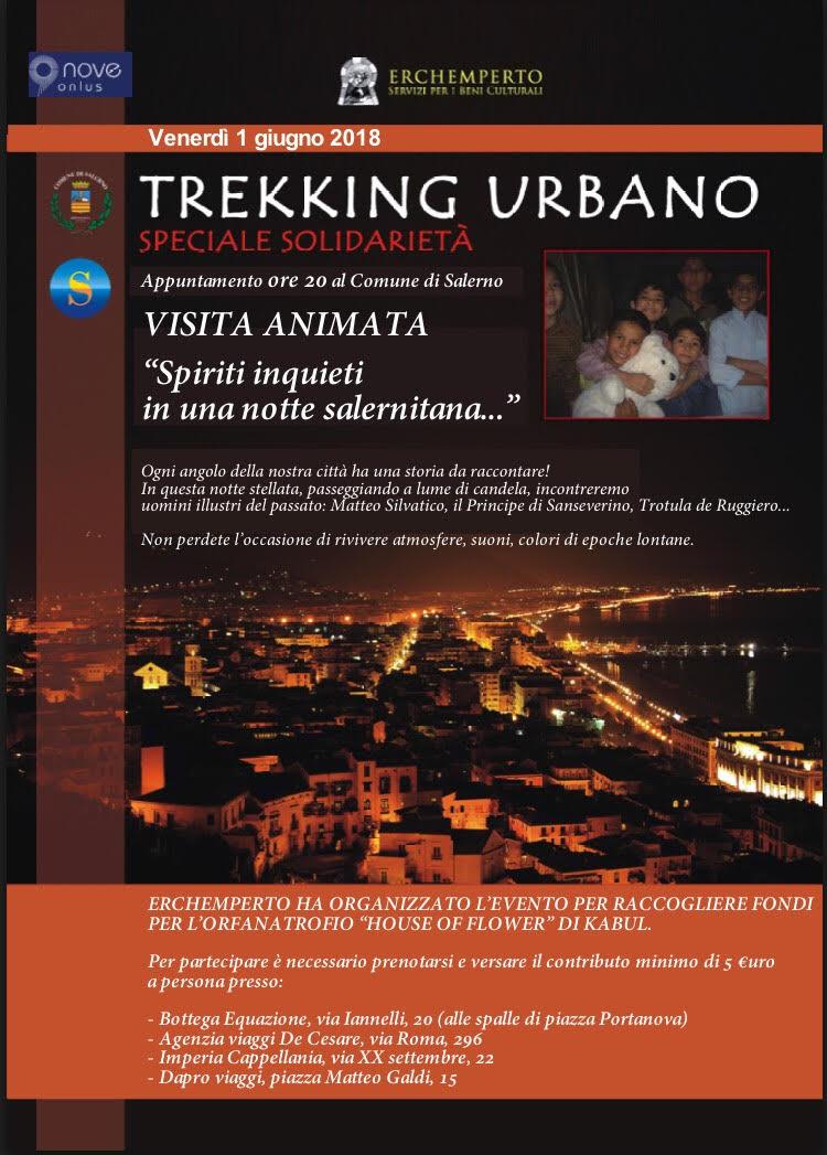 Trekking urbano di solidarietà Salerno 1