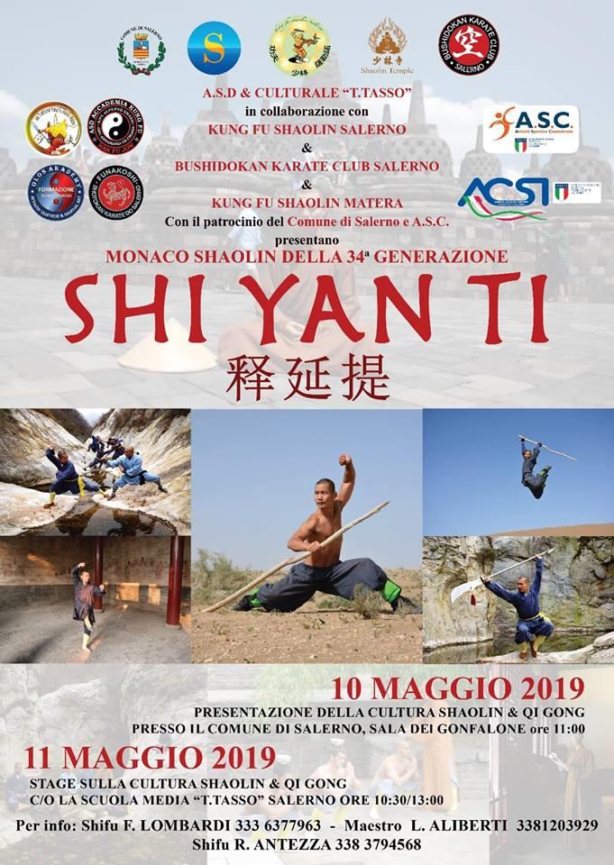 Shaolin-Salerno-Shi Yan Ti