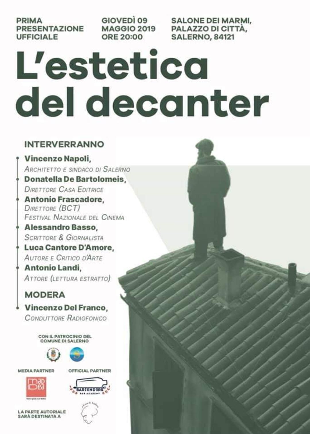 L'estetica del Decanter-Luca Cantore D'Amore