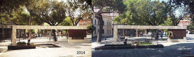 Monumento Giudice-Prima e dopo-2