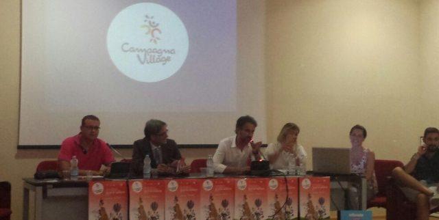 3° Campania Village 2015-Sindaco-Roberto Monaco-organizzatori-Conferenza stampa