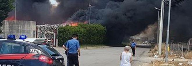 Incendio Battipaglia