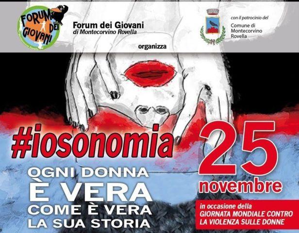 #iosonomia-Montecorvino Rovella contro la violenza sulle donne