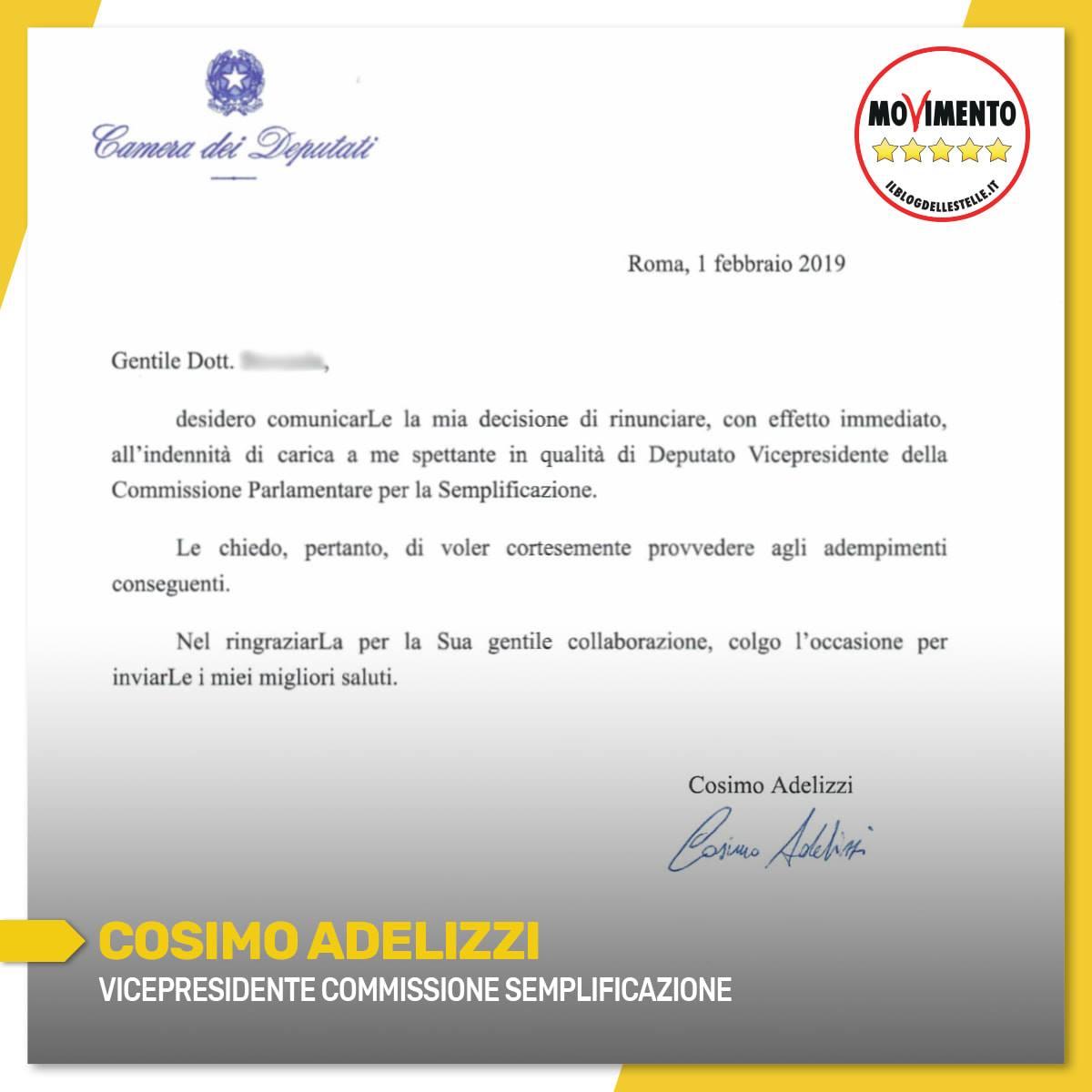 Lettera Adelizzi