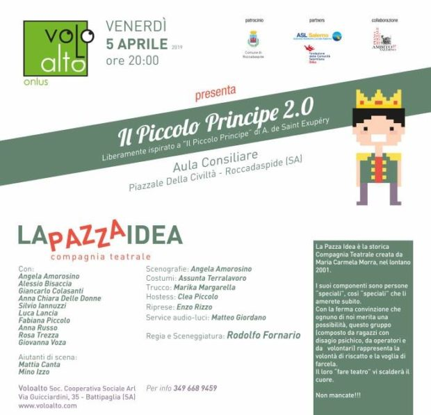 La Pazza Idea-Il Piccolo Principe 2.0 Roccadaspide
