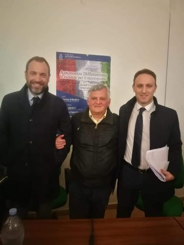 Federico Conte e Piero De Luca