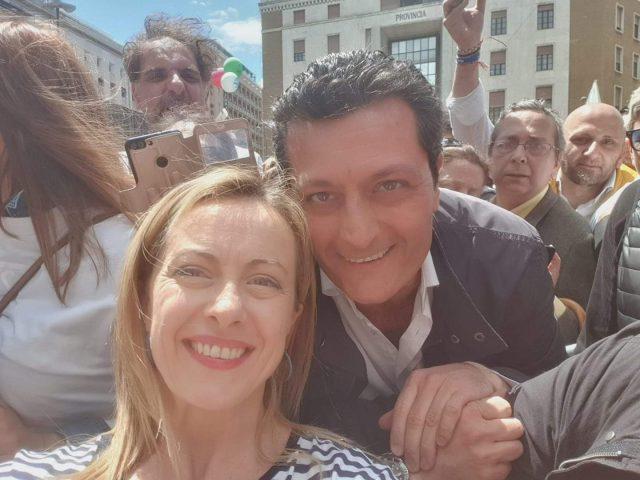Giorgia Meloni-Ugo Tozzi