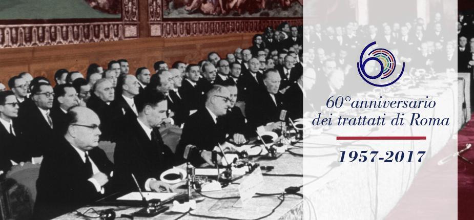 60esimo-Trattati di Roma 1957