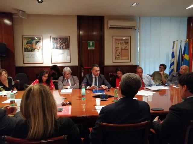 Vertenza APU incontro al MISE con Ministro Di Maio