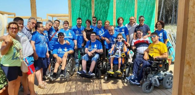 Eboli-Spiaggia attrezzata per persone disabili