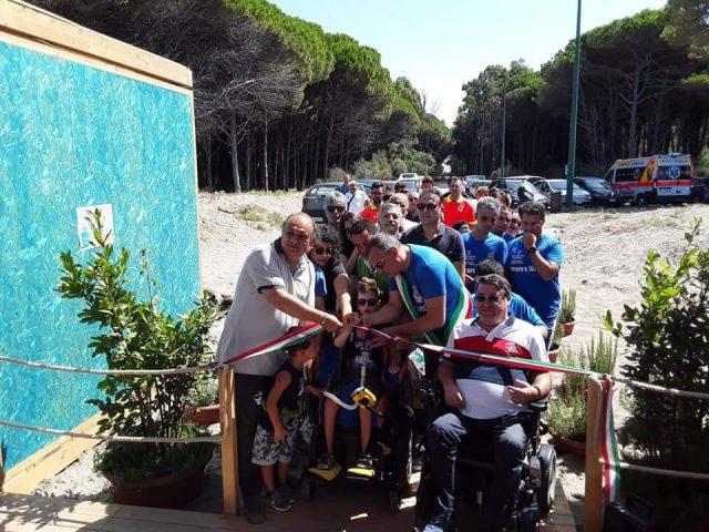Eboli-Spiaggia attrezzata per persone disabili-2