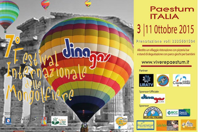 7 Festival delle Mongolfiere di Paestum