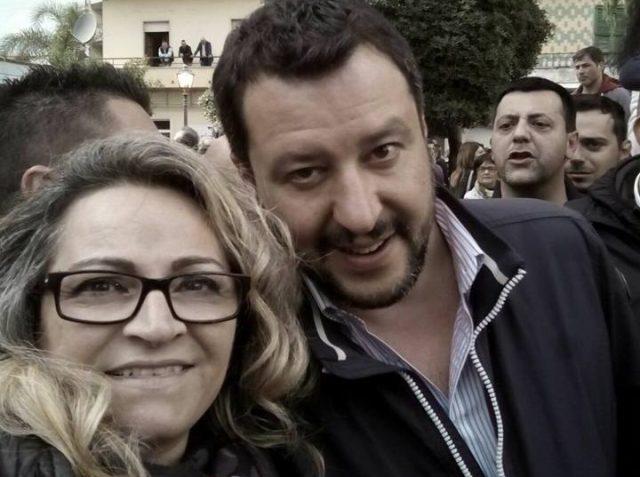 Adelaide Esposito-Matteo Salvini