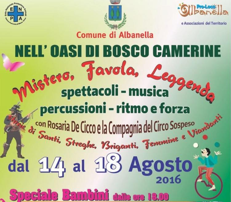 Albanella-Bosco Camerine-Festa popolare