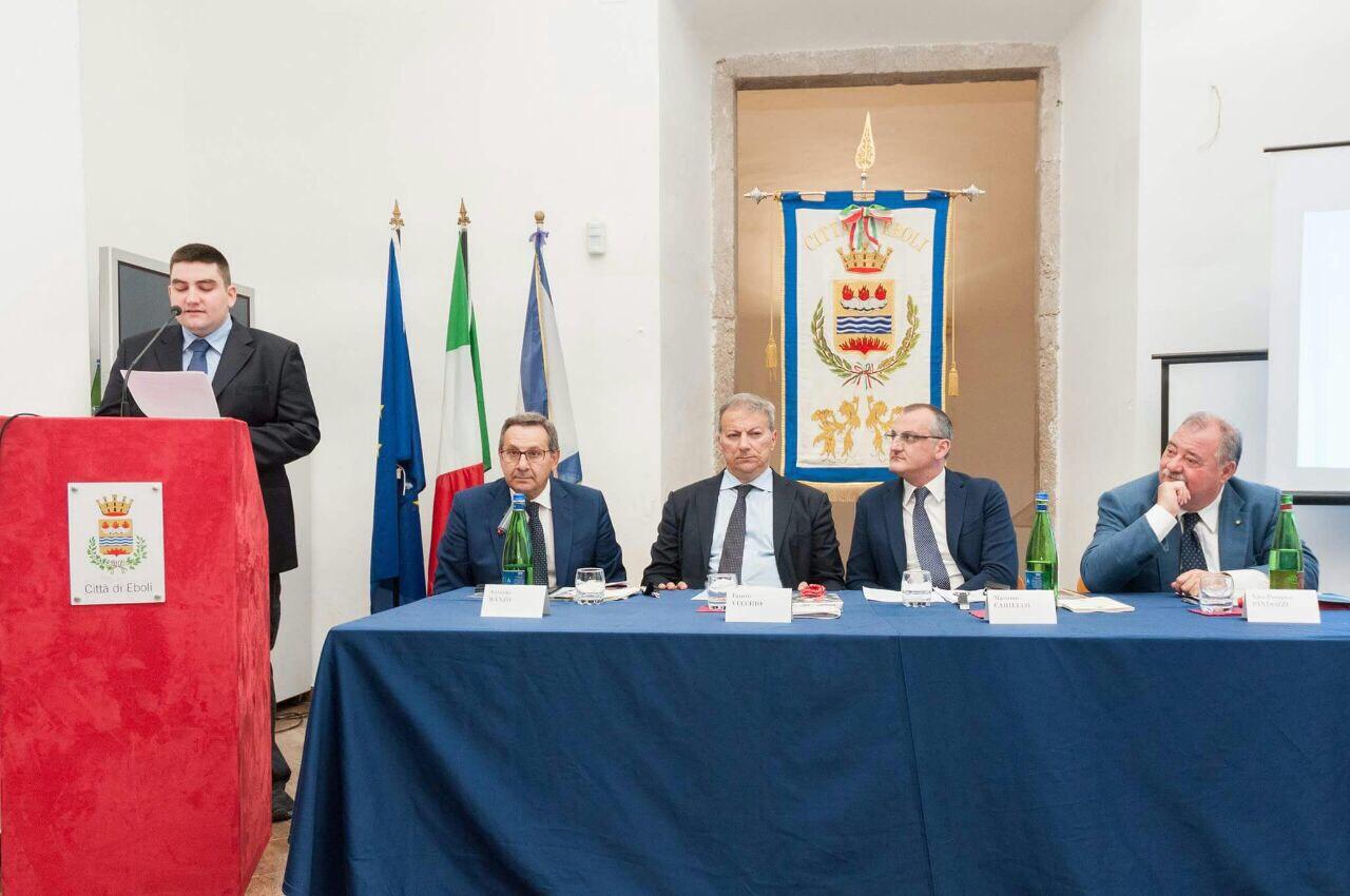 Alessio Scarpa-Antonio Manzo-Fausto Vecchio-Massimo Cariello-Vito Pompeo Pindozzi