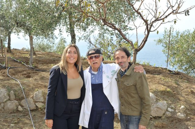 Allegra Ammirati- Alfonso Iaccarino- Gianni Cesariello