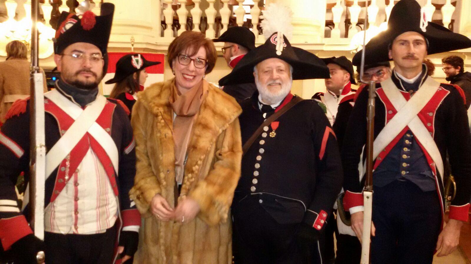 Antonella Cestaro 220 anniversario tricolore