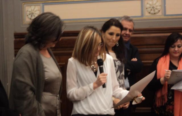 Antonella Dell'Orto-Premiazione.