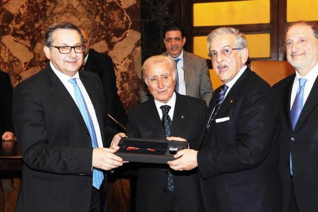 Antonio Manzo-Enzo Todaro-Guido Arzano-Enzo Galiano-Premiazione edizione 2013