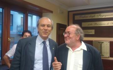 Armando Zambrano presidente Nazionale ordine degli inge.-Gabriele Del Mese