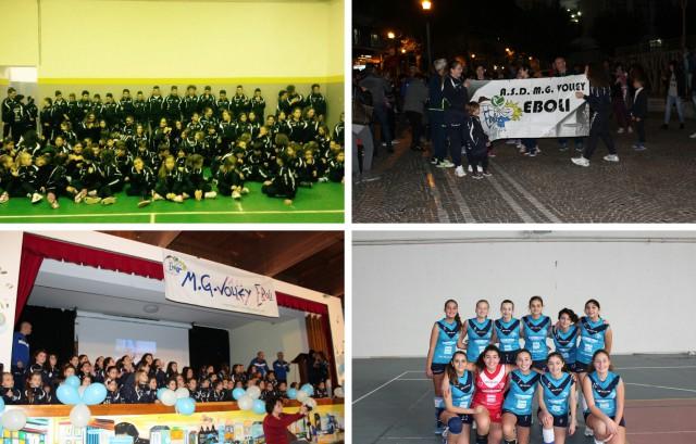 Atleti MG Volley-Festa inizio stagione-Under 16 femminile