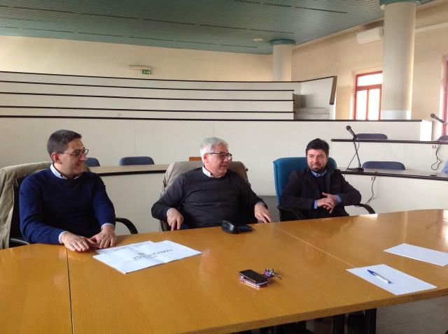 Attilio Astone-Martino Melchionda-Francesco Bello-Centro Commerciale Naturale-Eboli
