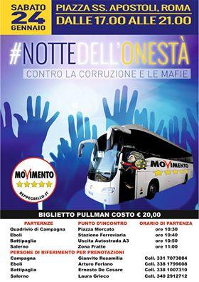 BUS Roma Notte dellOnestà