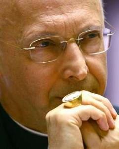 Angelo Bagnasco Presidente Conferenza Episcopale Italiana