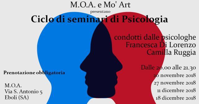 Seminari di psicologia al MOA Eboli