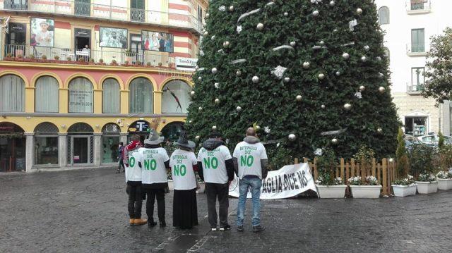 Battipaglia dice No-protesta a Salerno 1