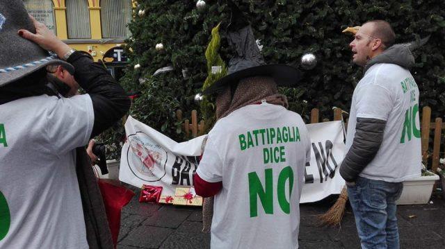 Battipaglia dice No-protesta a Salerno 2(1)