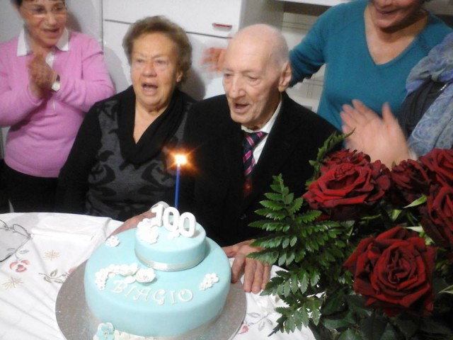 Biagio Cicalese-100 anni