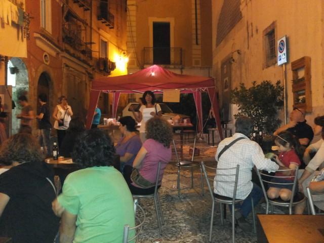 BorgoBalocco Estemporanea di Pittura- Piazza San Nicola-Premiazione.