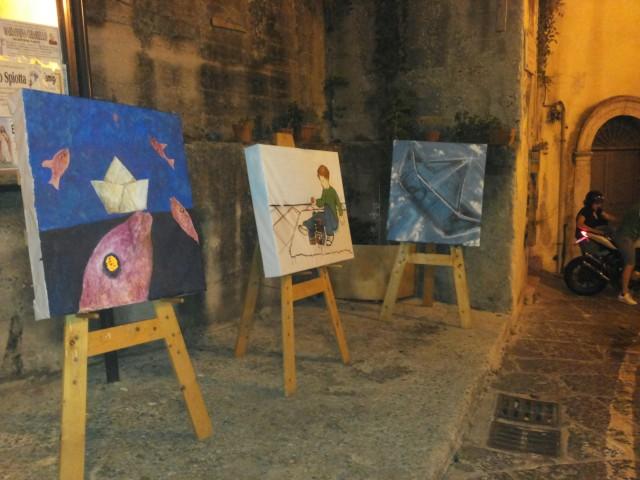 BorgoBalocco Estemporanea di Pittura-esposizione 1.