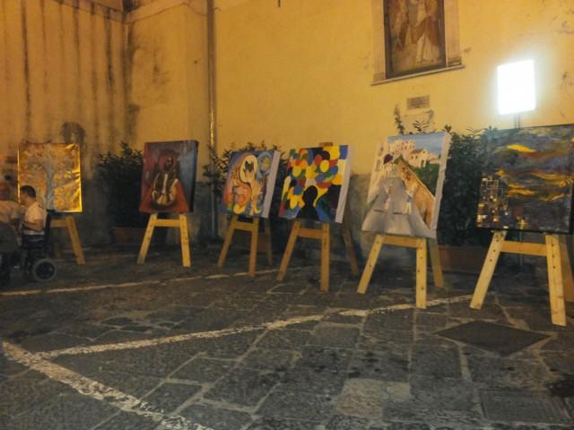 BorgoBalocco Estemporanea di Pittura- esposizione 2