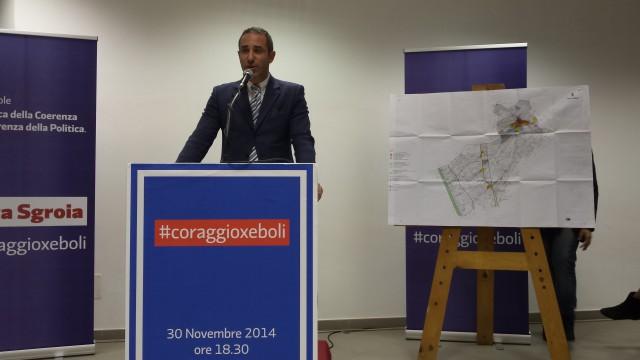 Bruno Cirigliano-Sala Ritz-Eboli-Manifestazione Sgroia