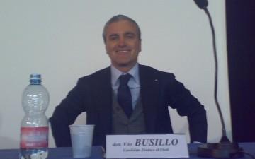 Vito Busillo Presidente consorzio destra Sele