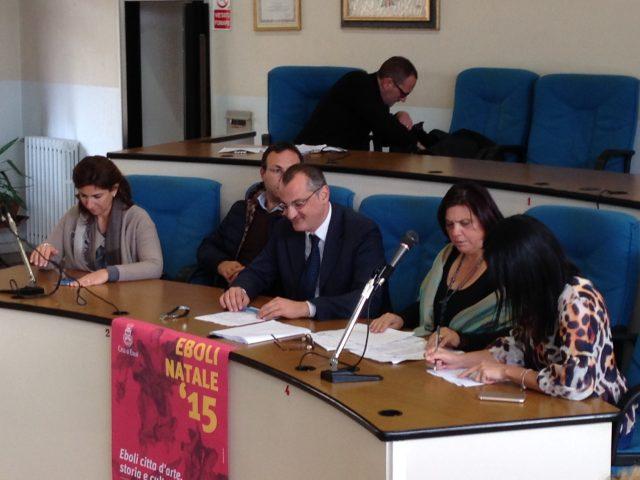 Conferenza Stampa Natale 2015-Saja-Ginetti-Cariello-Manzione-Ciao