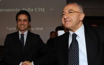 Il Governatore Stefano Caldoro - Vincenzo De Luca